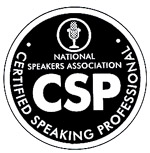 CSP designation from the National Speakers Association