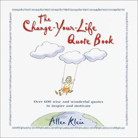 The ChangeYourLife Quote Book Custom Life Quotes Book